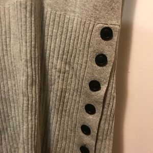 Anthropologie Dresses - Moth Anthropologie Gray Wool Blend Sweaterdress S
